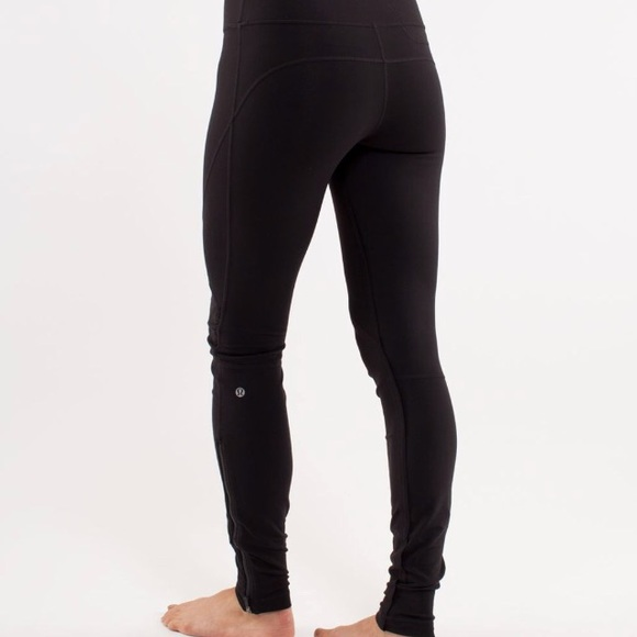 40e80cabc3e365 lululemon athletica Pants | Lululemon Leggings Zipper Ankles Size 6 ...